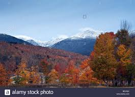 autumn in the white mountains of new hshire with mount