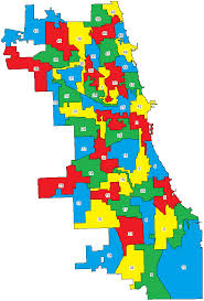 chicago voting map how chicago voted