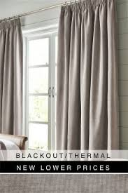 Silver Black Curtains Buy Curtains And Blinds Curtains Silver Black Out Blackout From