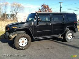 New Hummer H2 2007 Hummer H2 Suv In Black 112485 Nysportscars Com Cars For