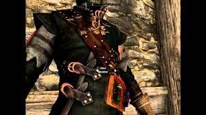Skyrim Light Armor Mods Skyrim V Mod Ita The Witcher 2 Geralt Light Armor And Witcher