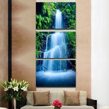 home decor canvas decorations indoor waterfall home decor waterfall decorations