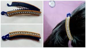 banana clip for hair diy hair accessories turn your banana clip into new designer