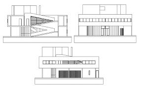 side elevation side elevation detail in cad file
