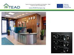 Accessible Reception Desk Tourist Attractions And Accessible Space Key Elements Of Tourism