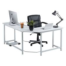 Overstock Corner Desk Fineboard L Shaped Office Computer Corner Desk Free Shipping