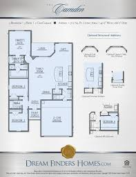 Floor Plans Texas Camden Dream Finders Homes