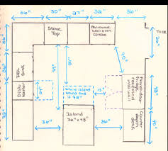 kitchen island spacing awkward kitchen layout