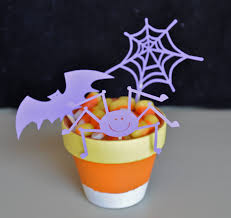 halloween clay pot crafts backless shirt candy corn and scarecrows a craft how to