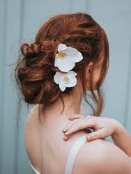 wedding hair flowers wedding bridal hair flowers by hair comes the hair comes