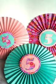paper fans decorations awesome paper fan decoration cut out tissue paper fan party