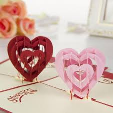 Designs Of Greeting Cards Handmade Nice New 3d Handmade Card Greeting Cards I Love You Red Heart