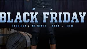 black friday tires unc unveils u0027black friday u0027 uniforms for n c state game