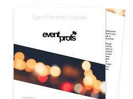 Write Event Proposal Letter Free Business Proposal Templates