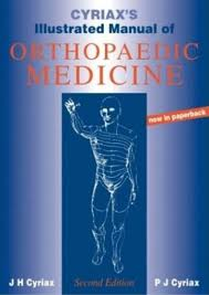 cyriax 1993 illustrated manual of orthopaedic medicine 2nd