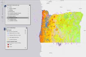 map of oregon interactive map of geohazards in oregon american geosciences