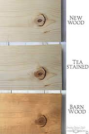 aging wood instantly country design style