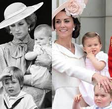 royal family finds solace in tribute to princess diana