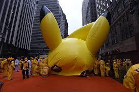 thanksgiving day parade balloons go back into hibernation nbc news