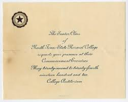 commencement announcements commencement announcement for state normal college