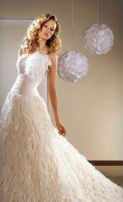 wedding dresses with feathers new york the wedding