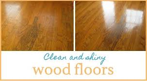 shine wood floors naturally