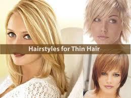 hairstyles for fine thin hair medium length