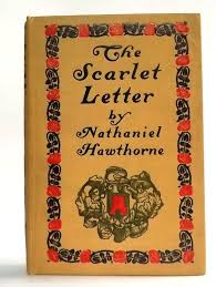 antique 1900 the scarlet letter by nathaniel hawthorne engraving