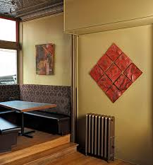 Kitchen Tiles Wall Designs Delighful Ceramic Tile Wall Art Blake Handmade T On Design