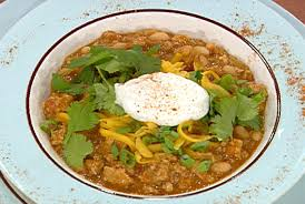 turkey and white bean chili by emeril lagasse at www foodnetwork