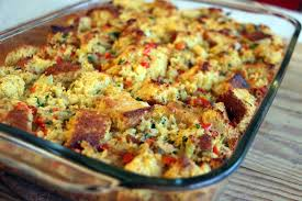 decadent gluten free thanksgiving cornbread and pepper