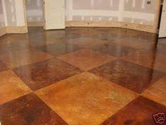concrete patio faux slate w i p wetcanvas home pinterest