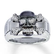 Skull Wedding Rings by Best Skull Wedding Rings For Men Cool Wedding Bands