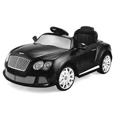 black convertible bentley amazon com costzon bentley gtc 12v kids ride on car battery