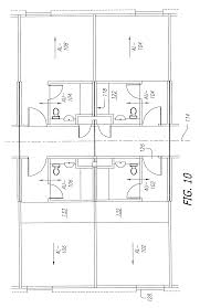 patent us6393774 construction system for modular apartments