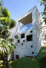 concrete house in caviano wespi de meuron romeo architects