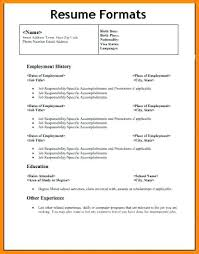 resume templates word format different resume templates resume templates word format exles