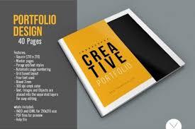 portfolio design pdf graphic design portfolio template by top design thehungryjpeg