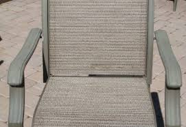 Sling Replacement For Patio Chairs Patio Furniture Fabric Lounge Chair Replacement Within 9