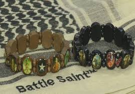 battle saints bracelets battle project aims to help save lives of veterans with ptsd