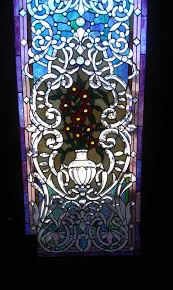 stained glass entry door when you are inside the spa the stained glass entry door is