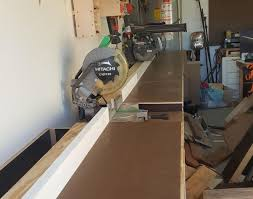 table mitre saw station beautiful chop saw table my new bench 16