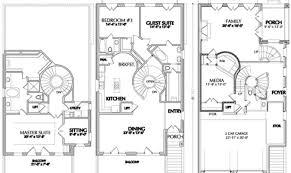 narrow home floor plans 25 floor plans narrow lot ideas house plans 13308