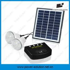 Solar Home Lighting System - china solar home lighting system with high lumen led kits portable
