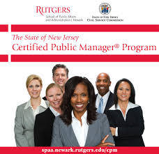 new jersey certified public manager program cpm of