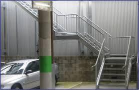 Galvanised Handrail Balustrading