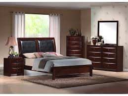 Modus Yosemite Bedroom Set Crown Mark Emily Queen Sleigh Bed With Upholstered Headboard Old