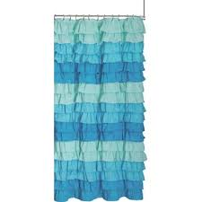 Ruffled Shower Curtain Ruffled Shower Curtain Wayfair