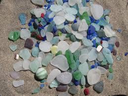 beach of glass lake michigan beach glass