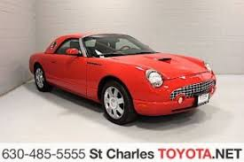 2002 Ford Thunderbird Premium Stock by Used Ford Thunderbird For Sale In Racine Wi 53407 Bestride Com